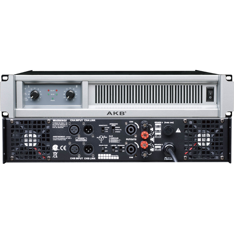 GS series best selling 4500 watts professional audio subwoofer power amplifier