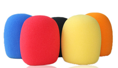 S14 Colorful Microphones Sponge Foam Cover For KTV