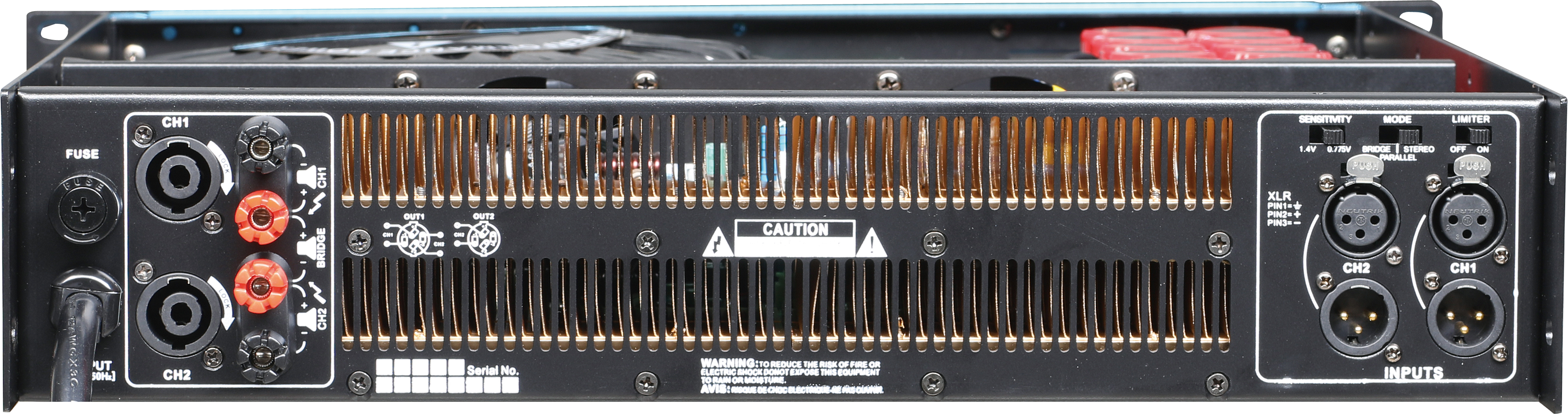 H series power amplifier
