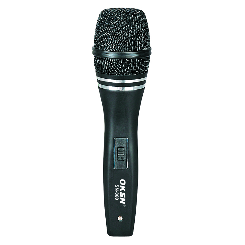 SN-860 cable wired dynamic microphone