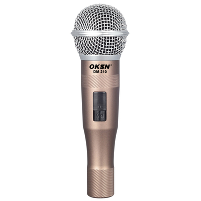 DM-210 karaoke wired dynamic microphone